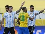 Rusuh, Detik-detik Laga Brasil vs Argentina Disetop
