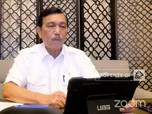 Luhut & Cerita Pujian Negara Lain Soal Penanganan Covid RI