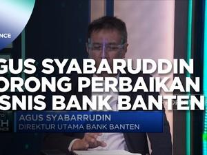 Jurus Agus Syabaruddin Dorong Perbaikan Bisnis Bank Banten