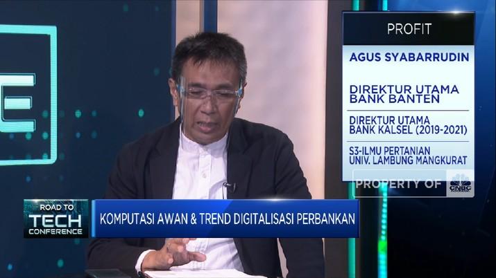 Kembangkan Digitalisasi Perbankan, Bank Banten Gandeng Amazon Web Services (CNBC Indonesia TV)