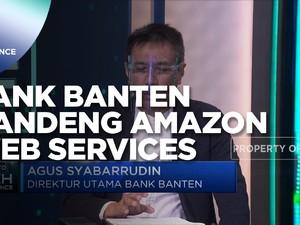 Kembangkan Digitalisasi Perbankan, Bank Banten Gandeng Amazon