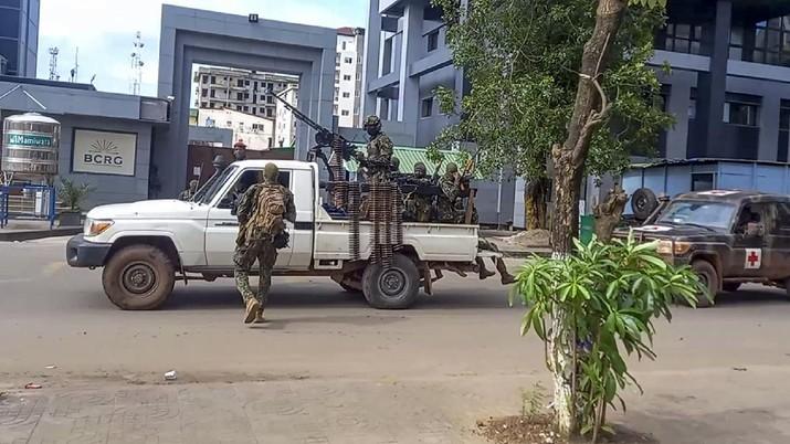 Militer tutup perbatasan usai kudeta pemerintahan Guinea. /AP