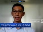 PPKM Kembali Diperpanjang, IHSG Ditutup Melemah