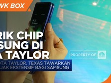 Samsung Pertimbangkan Kota Taylor sebagai Lokasi Pabrik Chip