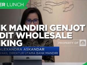 Strategi Bank Mandiri Genjot Kredit Wholesale Banking