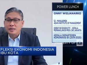 BI Proyeksi Ekonomi DKI Jakarta 2021 di Kisaran 3,4%-4,4%