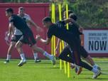 Gaya Cristiano Ronaldo Latihan Perdana Bareng Man United