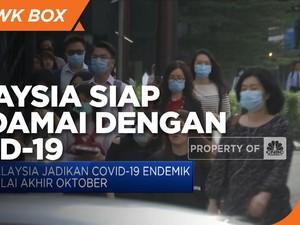 Malaysia Siap Berdamai dengan Covid-19