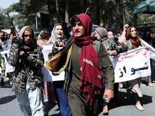 Taliban Bersumpah Izinkan Wanita Bersekolah