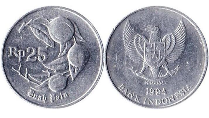 Uang koin lama 50 rupiah. (Dok: Gallery Currency Bank Indonesia)