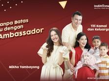 Mikha Tambayong & Titi Kamal Jadi Brand Ambassador Indihome