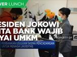 Presiden Jokowi Minta Bank Wajib Biayai UMKM