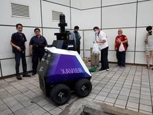 Bukan di Film, Singapura Pakai Robot Polisi di Mal-Mal