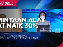 Tersulut Harga Batu Bara, Permintaan Alat Berat Naik 30%