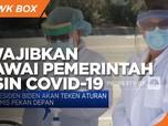 AS Wajibkan Pegawai Pemerintah dan Swasta Vaksin Covid-19