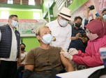 Ridwan Kamil Tinjau Gebyar Vaksinasi Massal Balongan