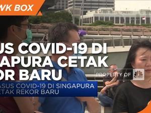 Kasus Covid-19 di Singapura Cetak Rekor Baru