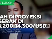 Perkasa, Rupiah Diproyeksi Bergerak di Rp 14.200-14.300/USD