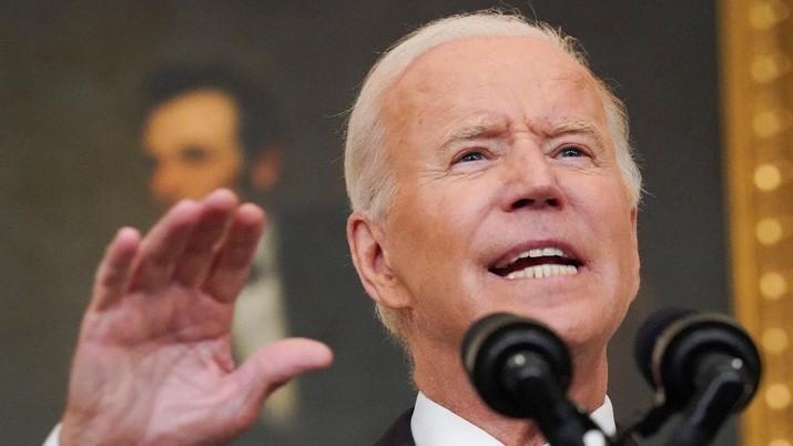 Presiden AS Joe Biden. (REUTERS/KEVIN LAMARQUE)