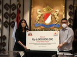 Sampoerna Donasi Rp 6 M ke Yayasan Kemanusiaan Kadin