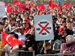 Ribuan Warga Turki Demo Tolak Kebijakan Presiden Erdogan