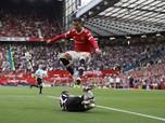 Viral! MU Kalah 5-0 dari Liverpool, Ronaldo Tendang Jones