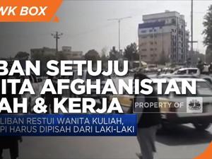 Taliban Setuju Wanita Afghanistan Kuliah & Bekerja!