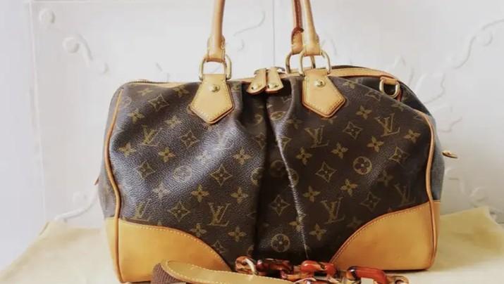 Tas Louis Vuitton Limited Edition LV Second Preloved Original yang dijual seharga Rp 14.500.000 (OLX/Dyana Ratupaksi)