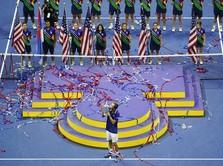 Momen Medvedev & Raducanu Rayakan Juara Grand Slam US Open