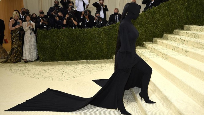 Kim Kardashian attends The Metropolitan Museum of Art's Costume Institute benefit gala celebrating the opening of the