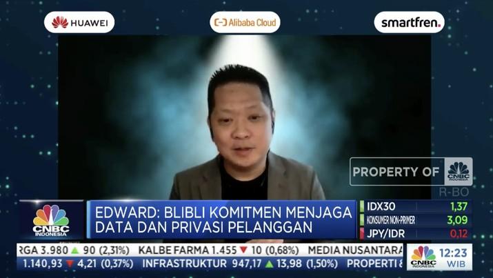 Chief Marketing Officer blibli.com, Edward K Suwignjo