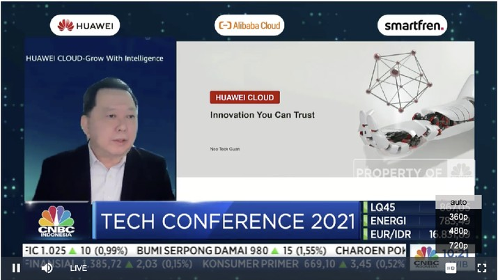 Foto/ Huawei_Tech Conference/CNBC Indonesia