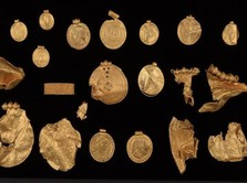 Geger, Harta Karun Emas Zaman Besi Ditemukan