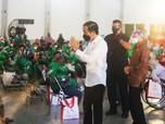 Jokowi Tinjau Langsung Pusat Vaksinasi Ramah Disabilitas