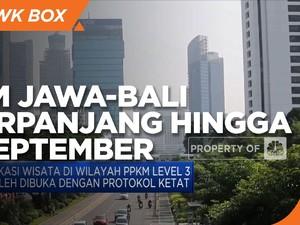 PPKM Jawa-Bali Diperpanjang Kembali Hingga 20 September 2021