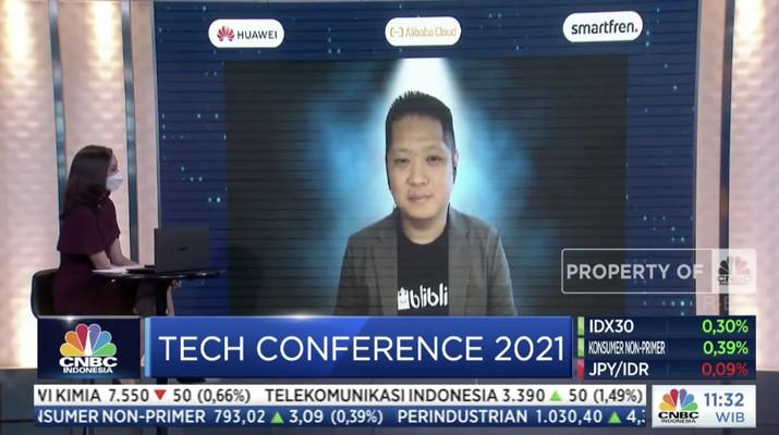 Tech Conference 2021, Chief Marketing Officer blibli.com, Edward K Suwignjo