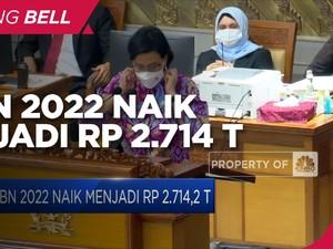 Dana Pendidikan & BPIP Ditambah, APBN 2022 Jadi Rp 2.714 T