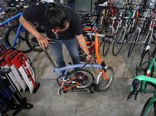 Marak di Medsos, Sepeda 'Sultan' Brompton Dijual Murah!