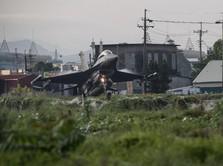 Gokil! Jet-jet Tempur Negeri Ini Nangkring di Jalan Raya