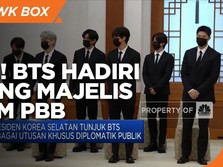 Wah! BTS Hadiri Sidang Majelis Umum PBB