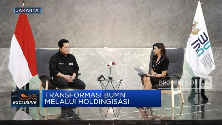 Holding Ultra Mikro Targetkan Pembiayaan ke UMKM Naik 30% (CNBC Indonesia TV)