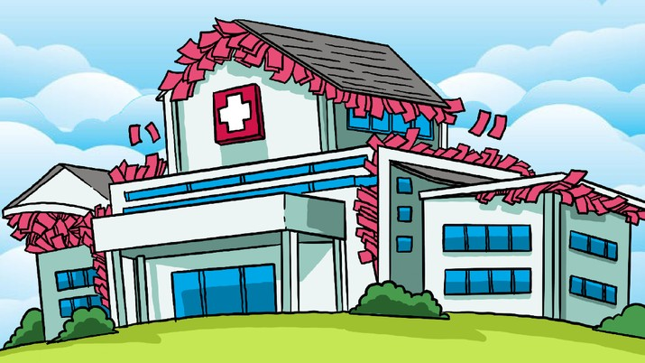 Infografis/ Crazy Rich RI Ramai-ramai Caplok Rumah Sakit, Cari Cuan? / Aristya Rahadian