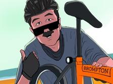 Lebih 'Hancur'! Harga Sepeda Brompton Bekas Anjlok Parah