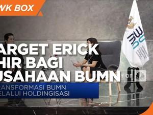 Siapkan 88 Agenda Besar, Ini Target Erick Thohir ke BUMN