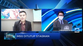 Investor Masih Wait and See, IHSG Ditutup Stagnan
