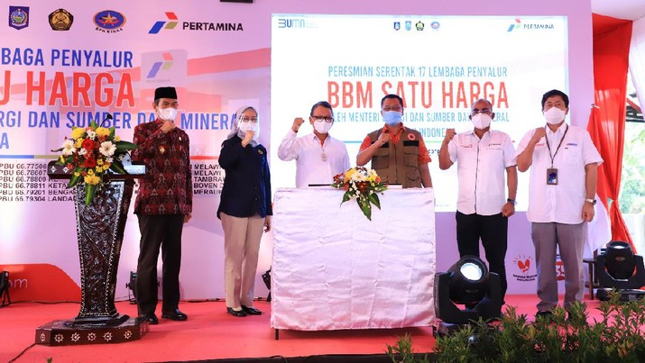 Program BBM Satu Harga yang dimulai pada tahun 2017 lalu, kini telah tersedia di 297 titik yang tersebar di seluruh wilayah Indonesia, 287 titik di antaranya dikelola oleh Pertamina.  Dok Pertamina