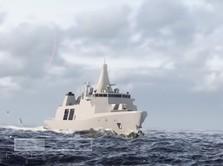 Penampakan Kapal Tempur Inggris yang Lisensinya Didapat RI