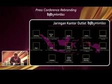 Disaksikan Ridwan Kamil, Rebranding bjb prioritas Diluncurkan