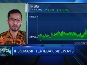 Masih Sideways, IHSG Ditutup di Zona Hijau