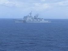 Tegang! Kapal China Makin Wara-wiri di Laut Natuna RI